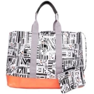 Diane von Furstenberg Loves Roxy Surf Beach Tote